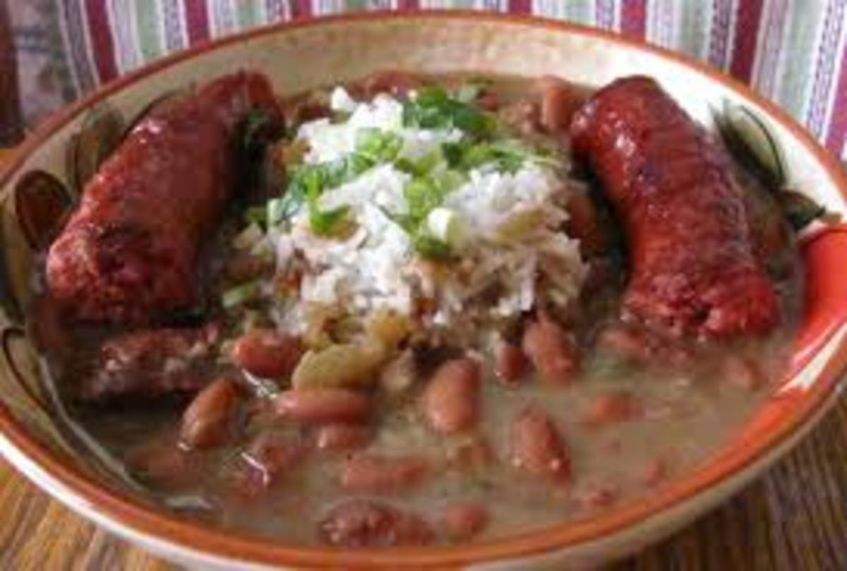 This dish can also be served with sausage on the side.