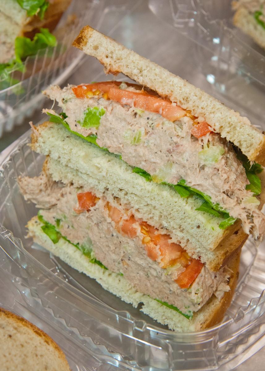 An almost-ribbon sandwich