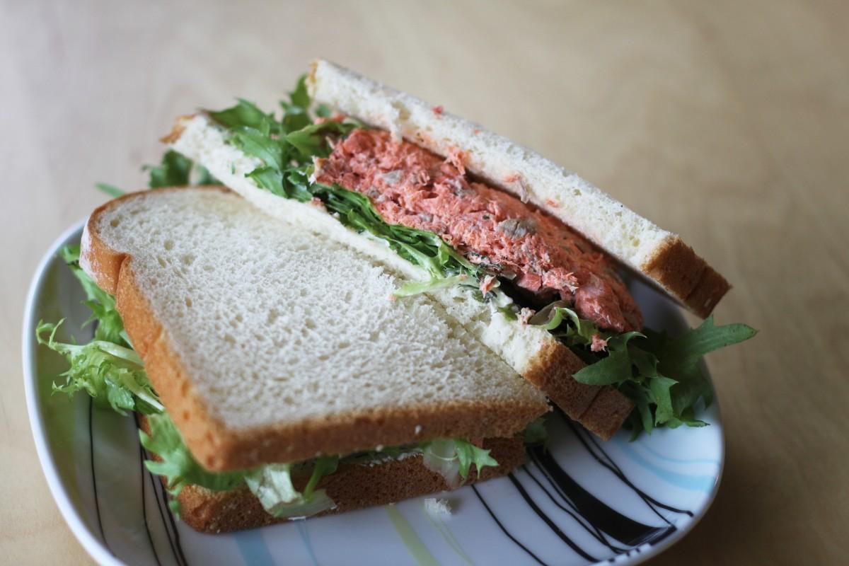 A regular ol' sandwich