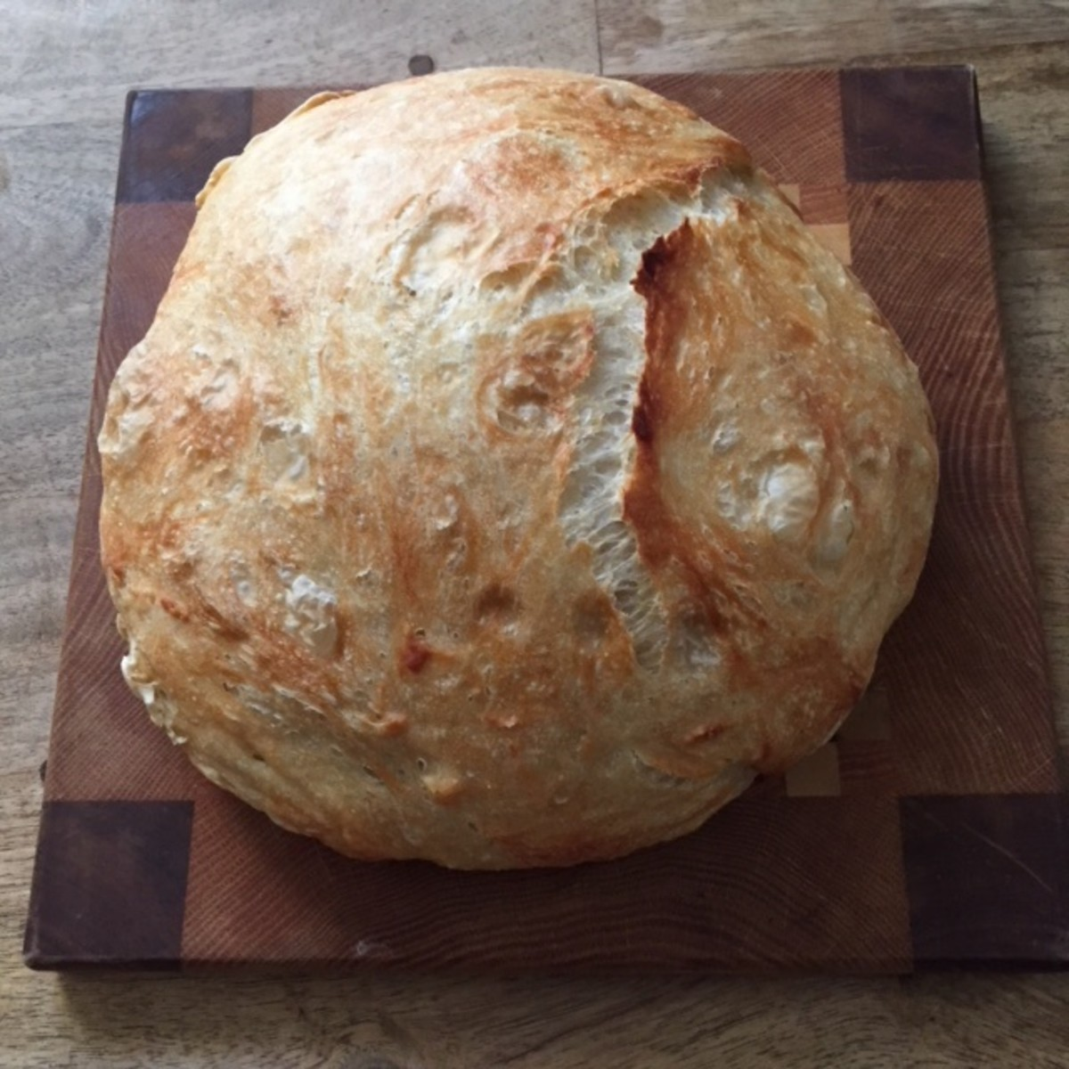 A must for my family recipe collection in progress: the tender, crusty no-knead bread method I've finally nailed!