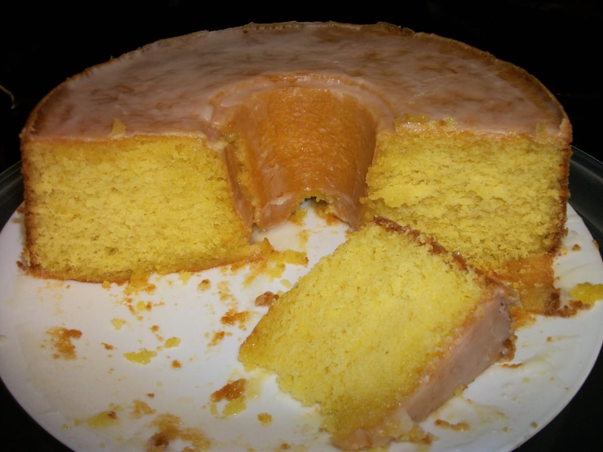 Moist and delicious Lemon JELL-O cake