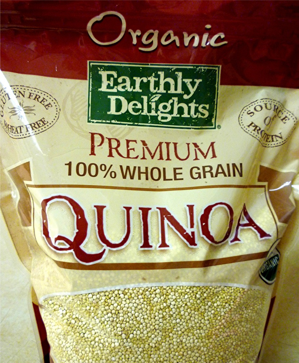 Quinoa in Bag