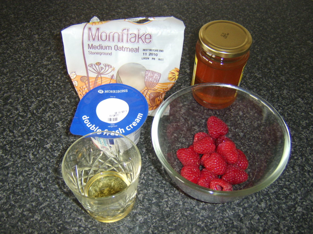 Cranachan Ingredients