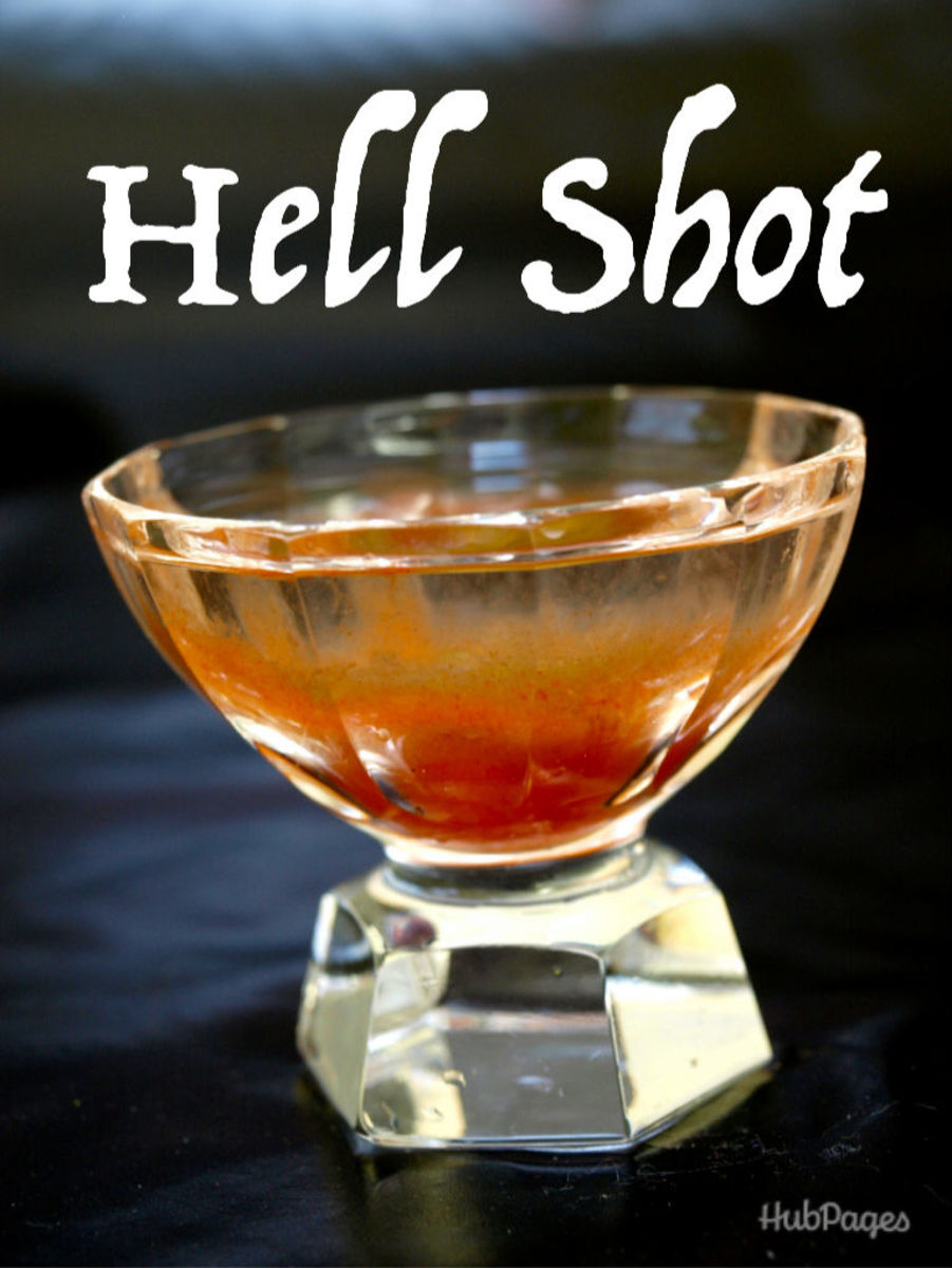 If you dare, try the Hell Shot, with spicy Tabasco sauce and a dash of Everclear.