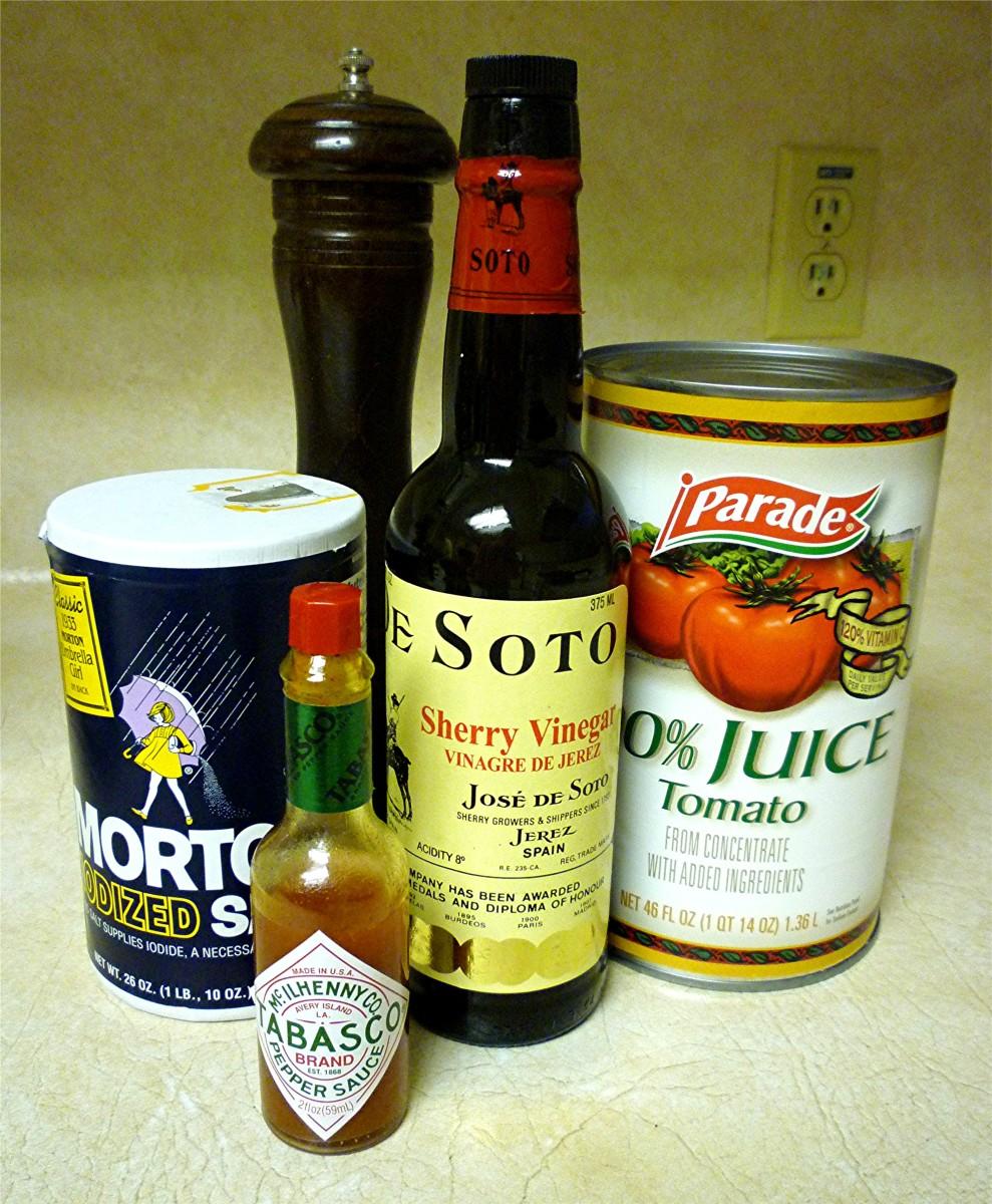 Other Gazpacho Ingredients