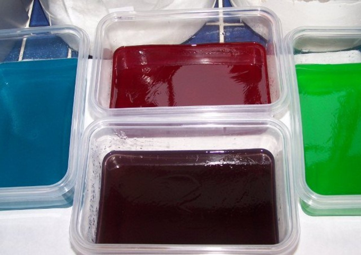Jell-O In Bowls