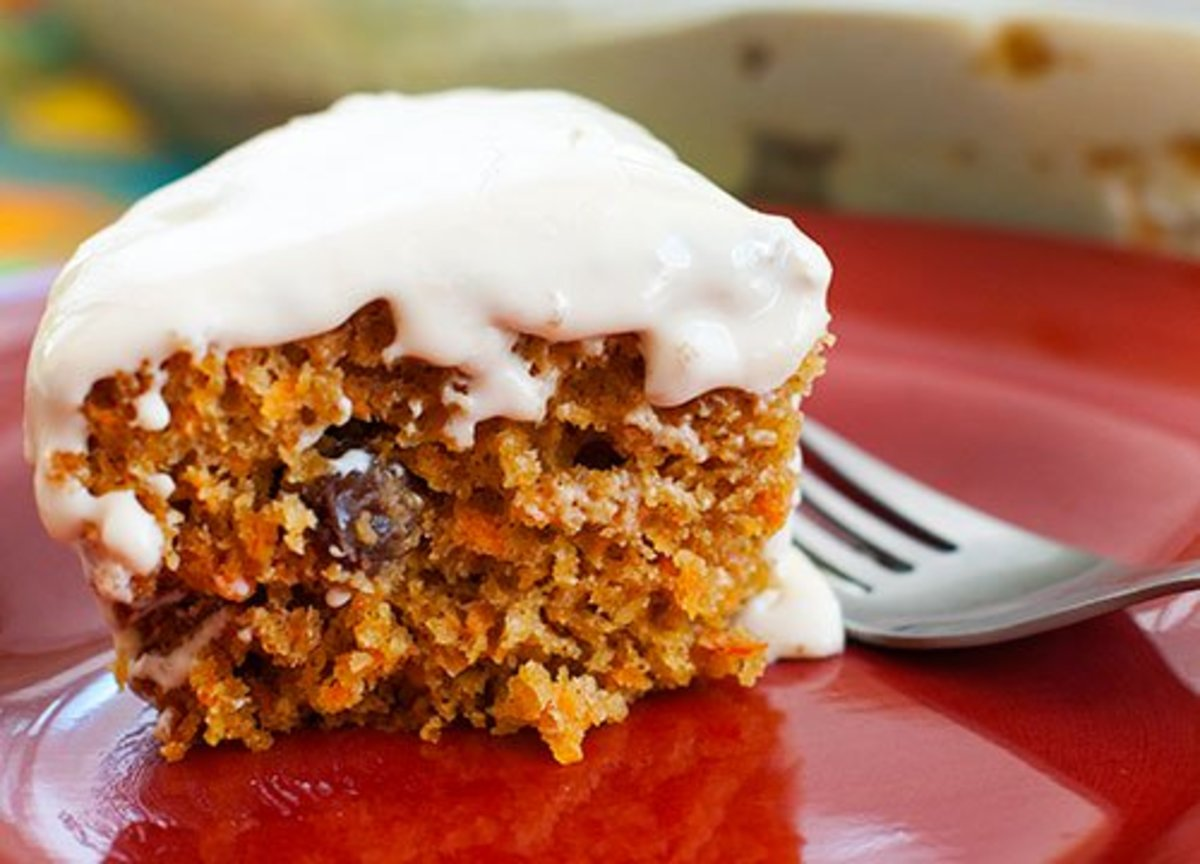 High Altitude Cooking Recipe - Carrot Cake