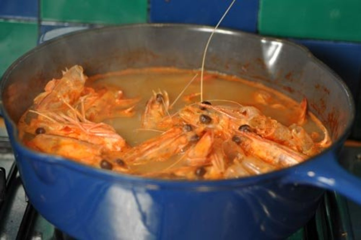 Homemade Prawn Stock
