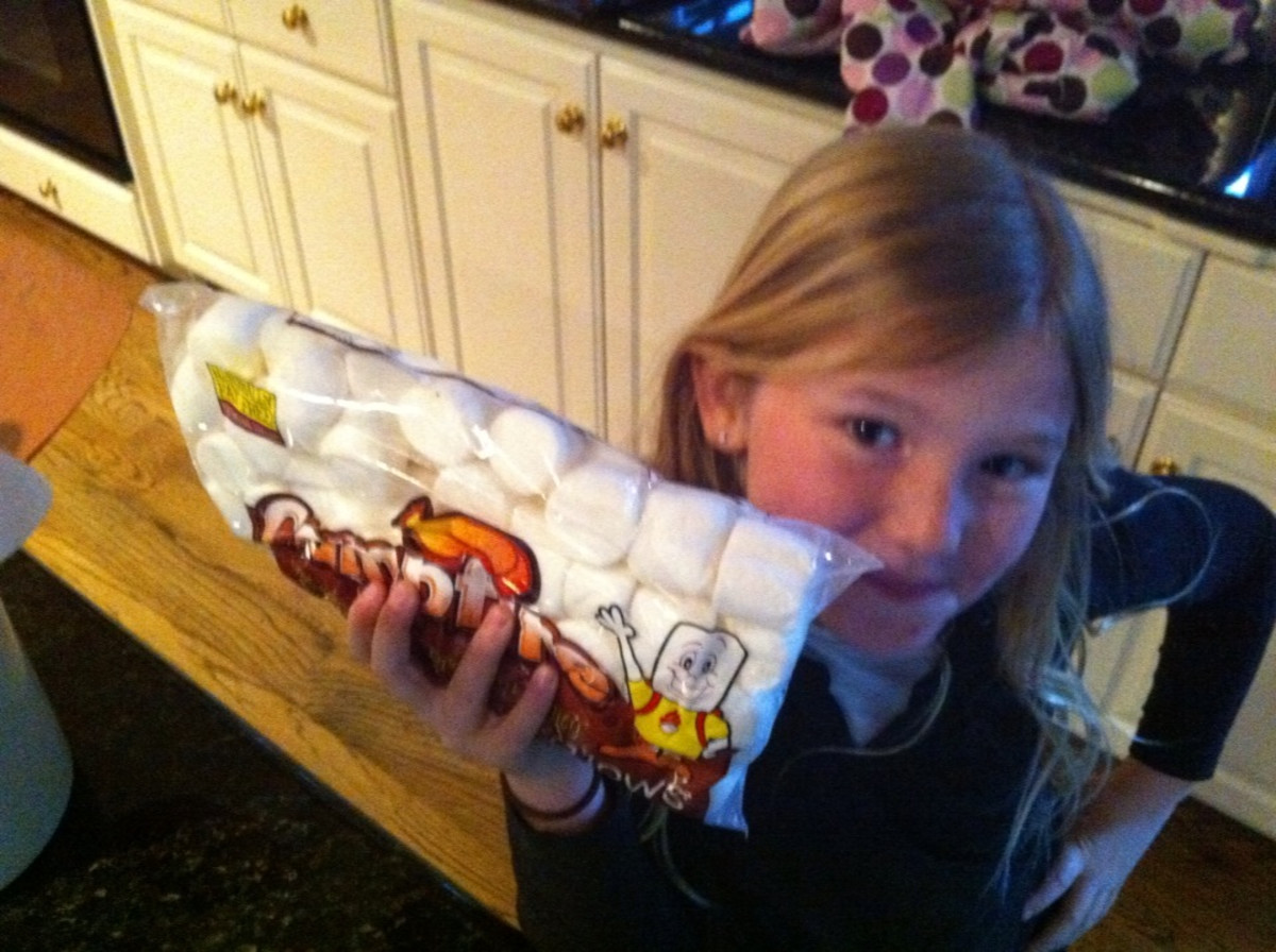 Large size marshmallows