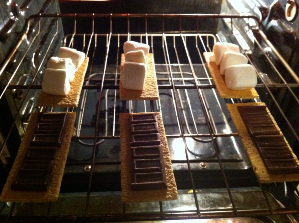 smores in oven