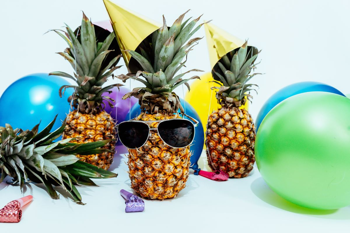 Even pineapples party too hard sometimes.