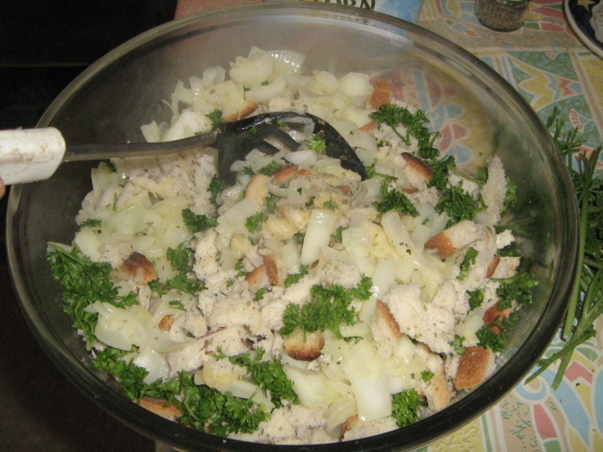 Recipe for Homemade Stuffing