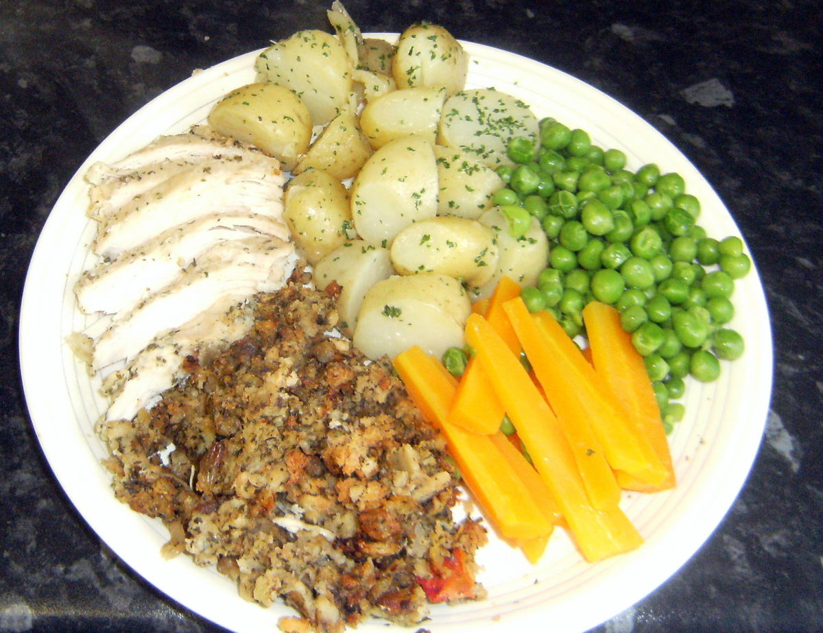 How to Cook Chicken Breast with Homemade Stuffing