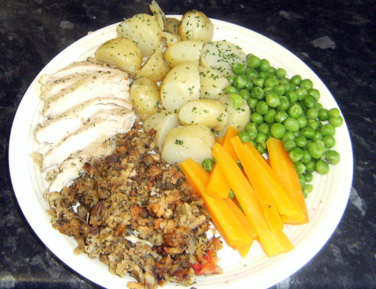 Roast Chicken Breast Dinner