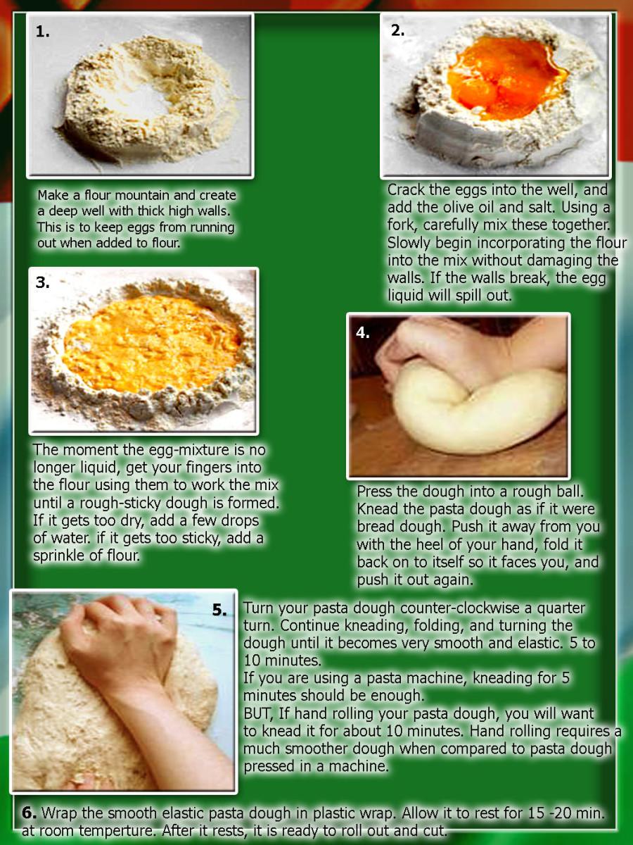 Handmade Pasta Guide in 6 easy steps