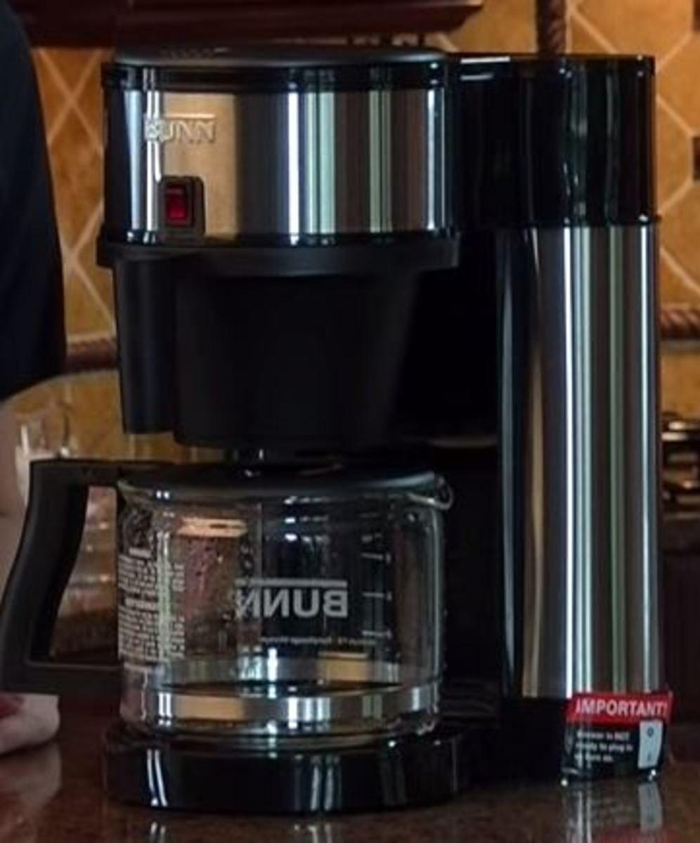 BUNN Velocity 10 cup coffemaker
