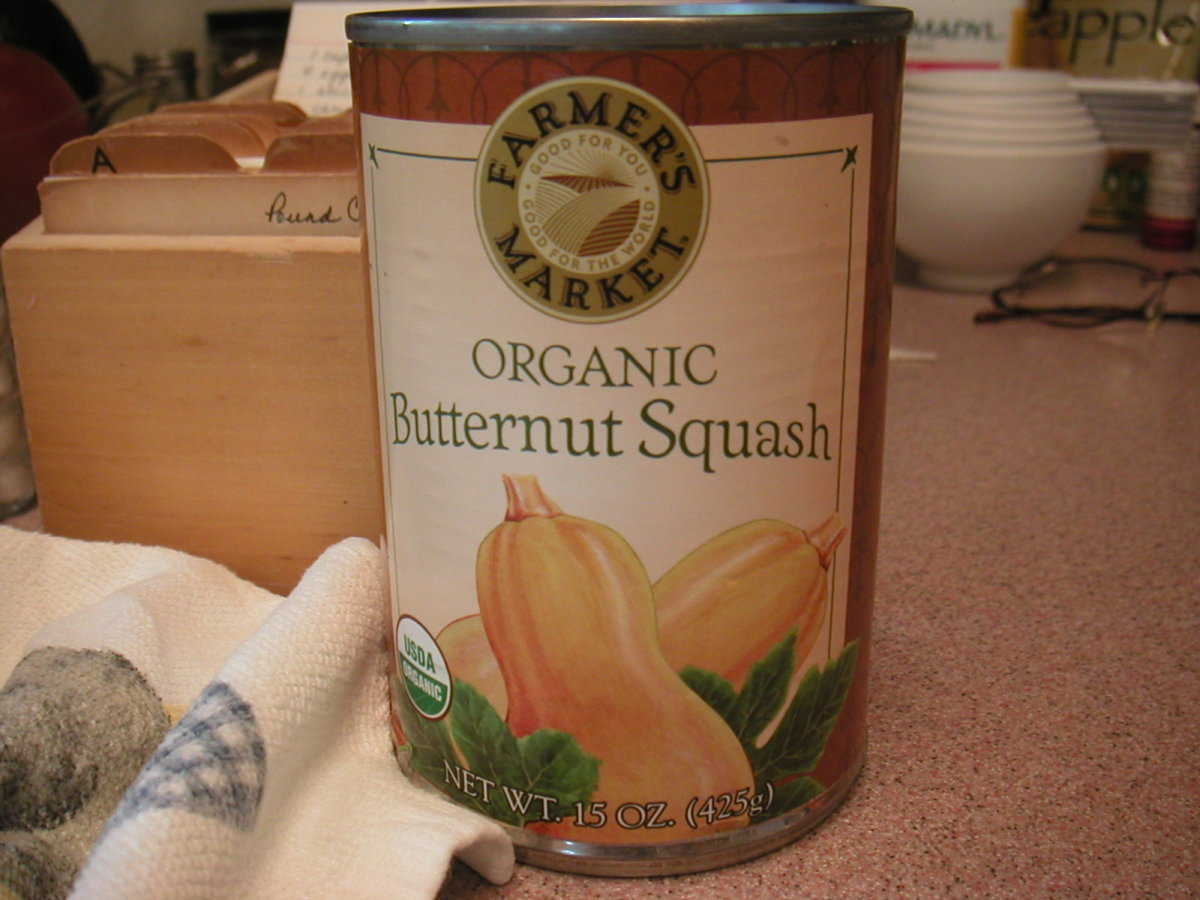 Canned butternut squash works in this recipe