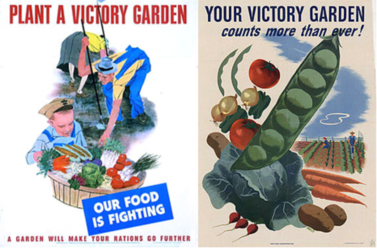 Pamphlets Encouraging People to Plant Victory Gardens