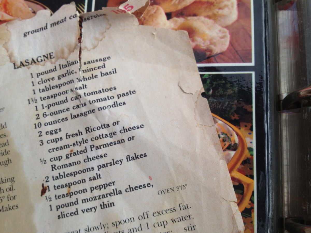 The original recipe.