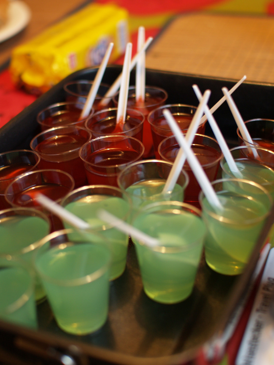You're never too old to enjoy Jell-O!