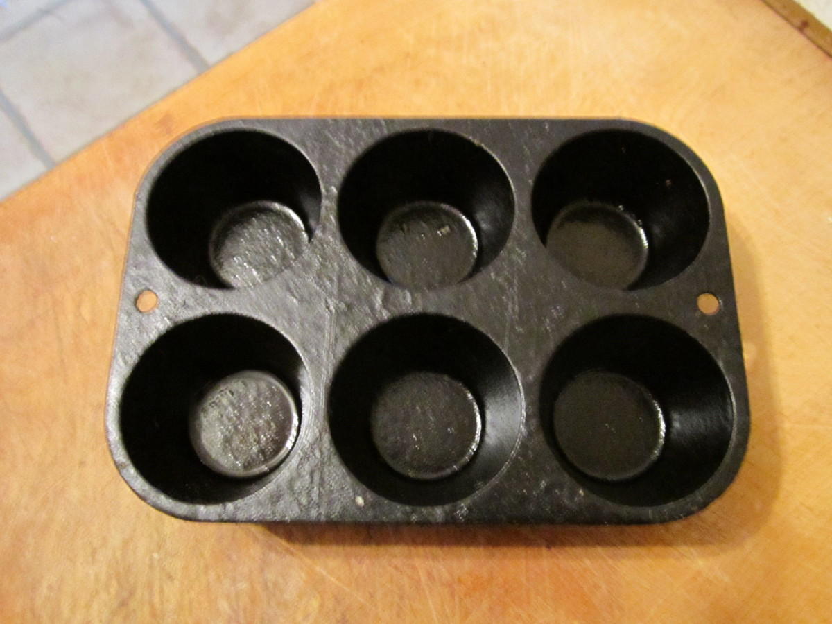This is a muffin baking pan. The muffins come out perfect every time!