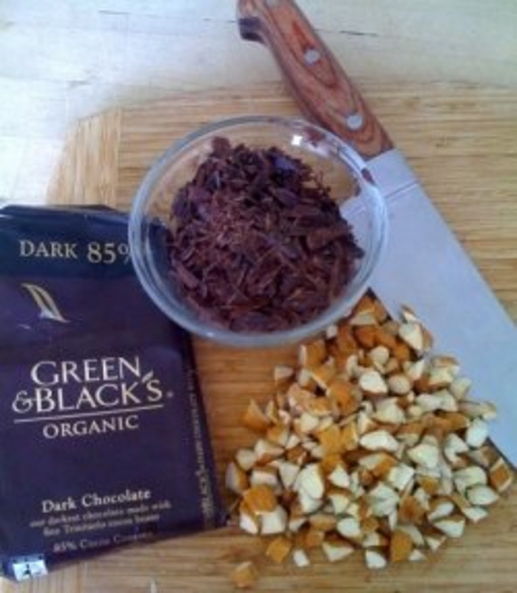 If you're adding goodies, after 15 minutes, slowly add 1/2 to 1 cup chopped nuts, candy, cookies, or fruit of your choice.