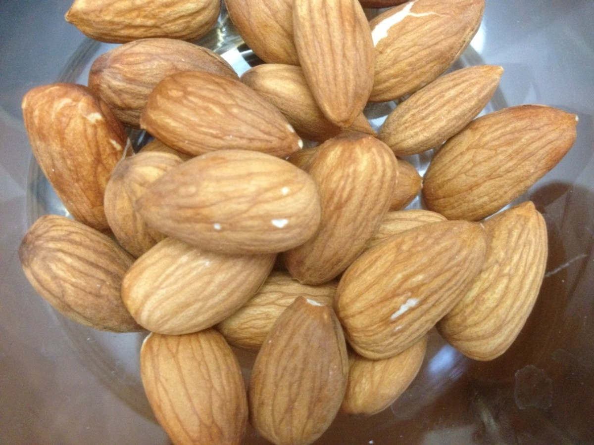 Almonds provide a great source of energy!
