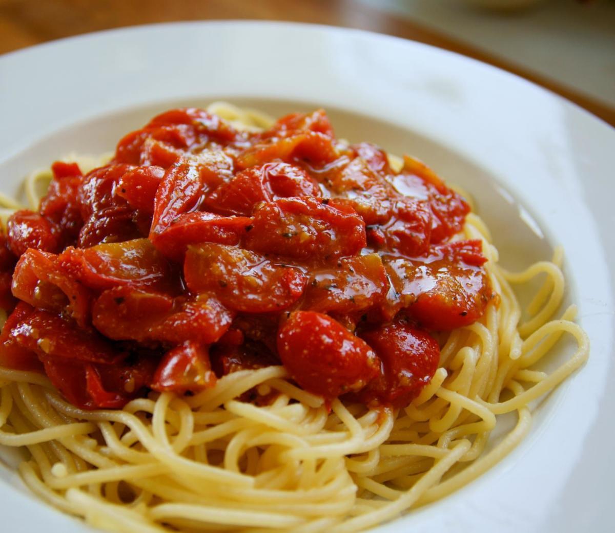 Gluten-free spaghetti.
