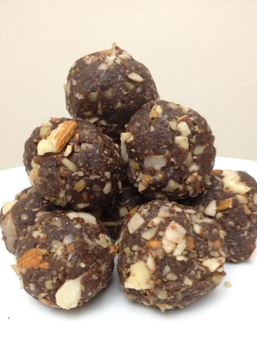 No-bake energy balls.