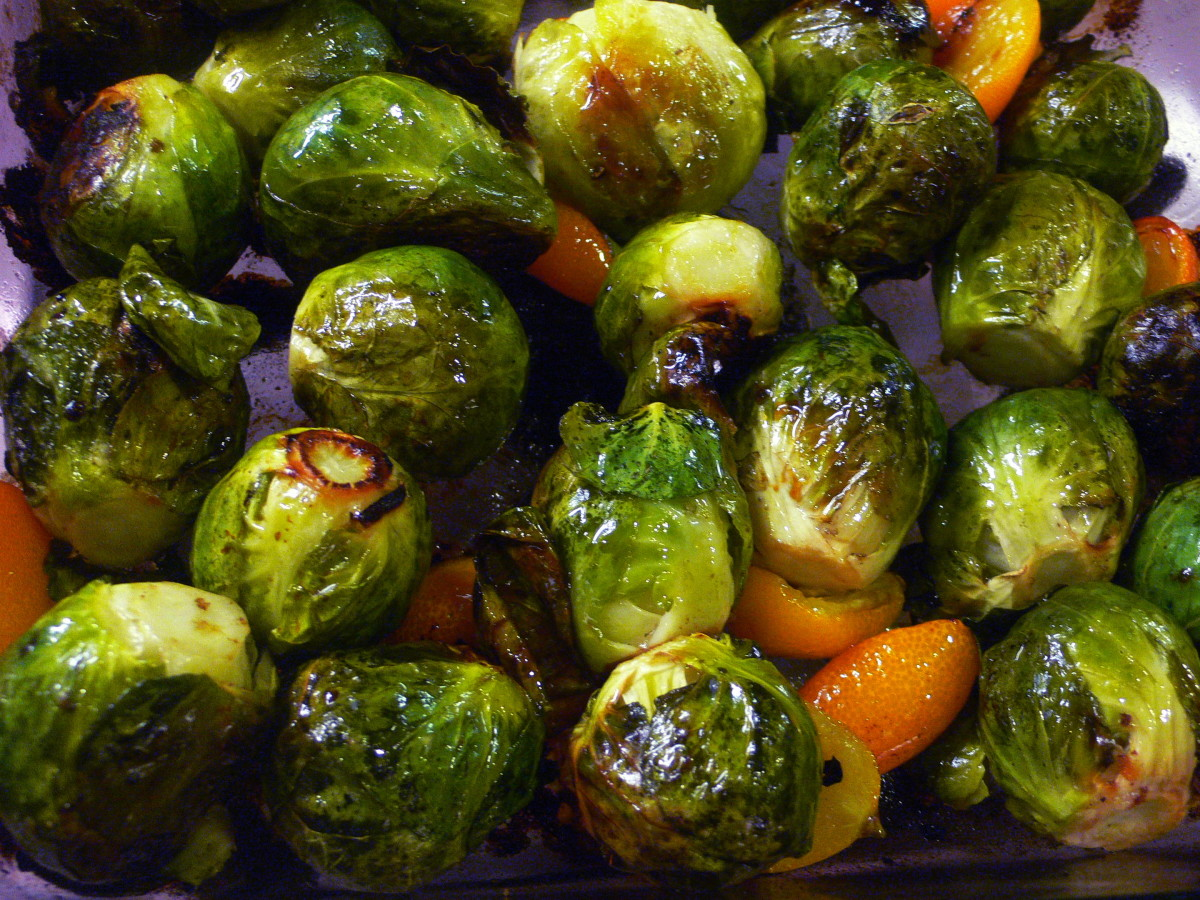 Roasting Brussels sprouts in the oven transforms their flavor.