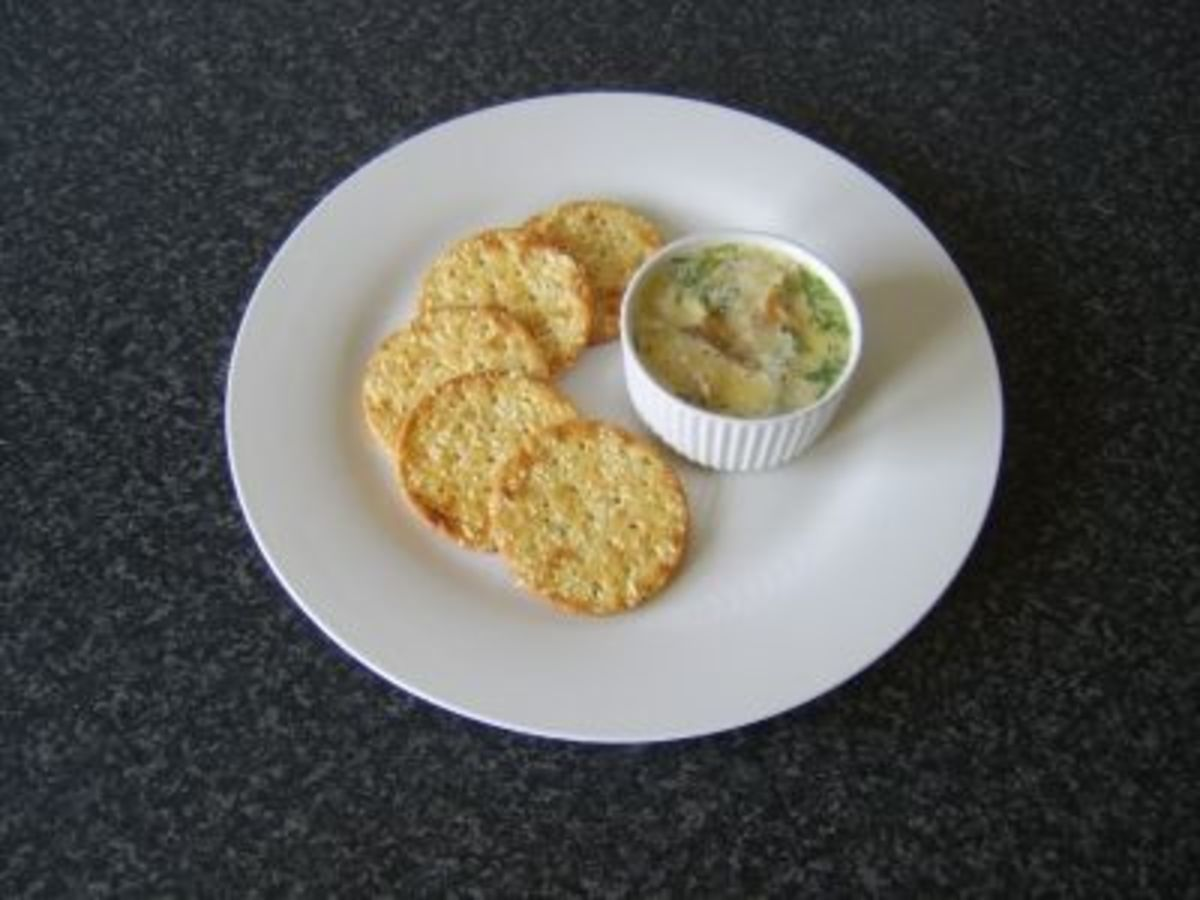 Smoked Mackerel and Chive Infused Butter