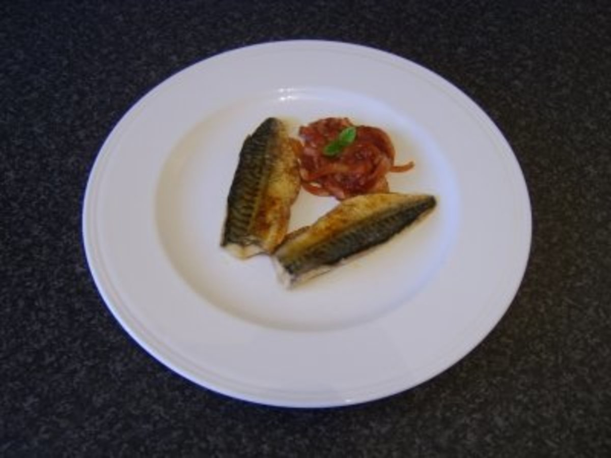 Spicy Pan Fried Mackerel Fillets