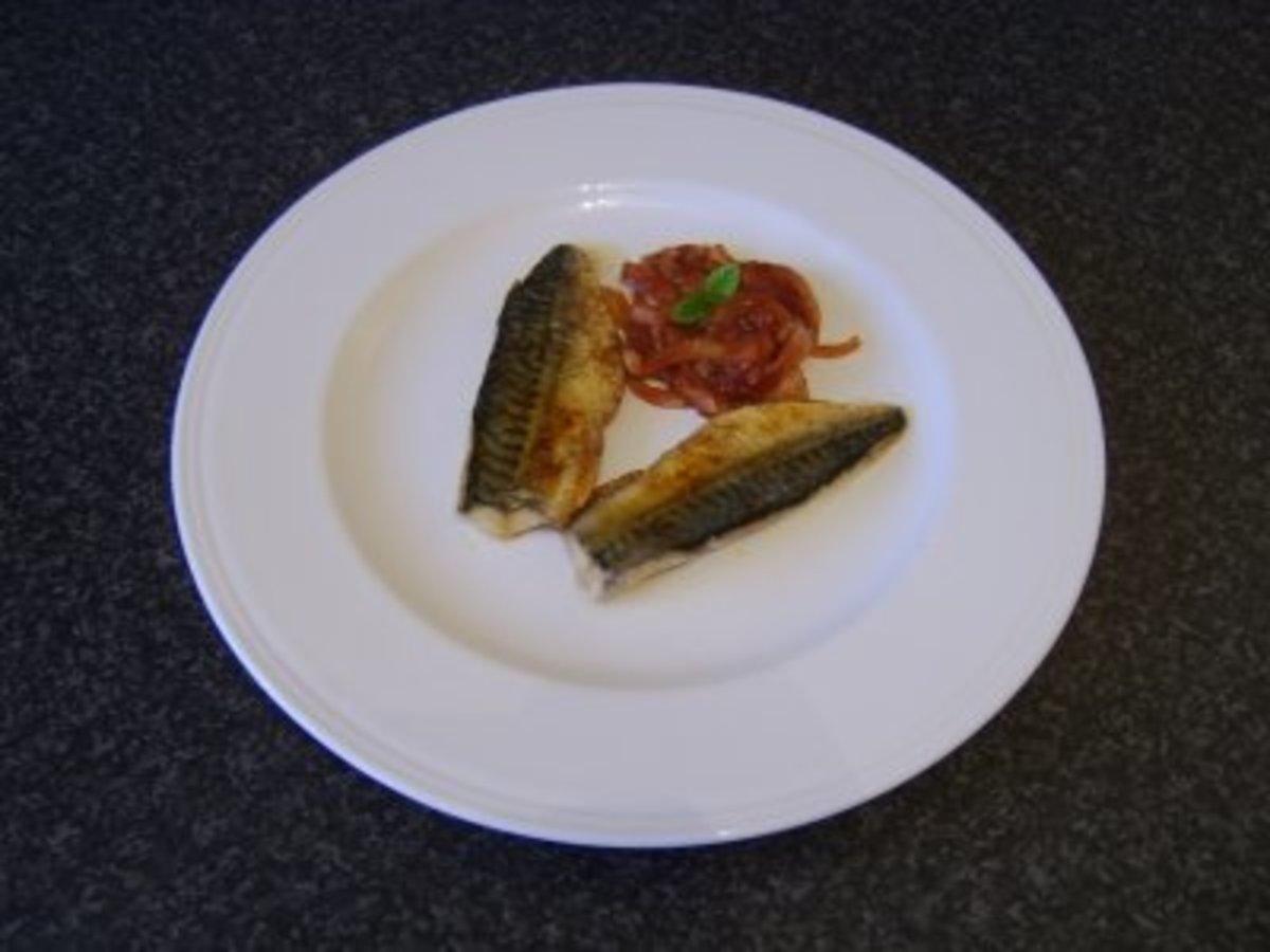 Spicy Pan Fried Mackerel Fillets