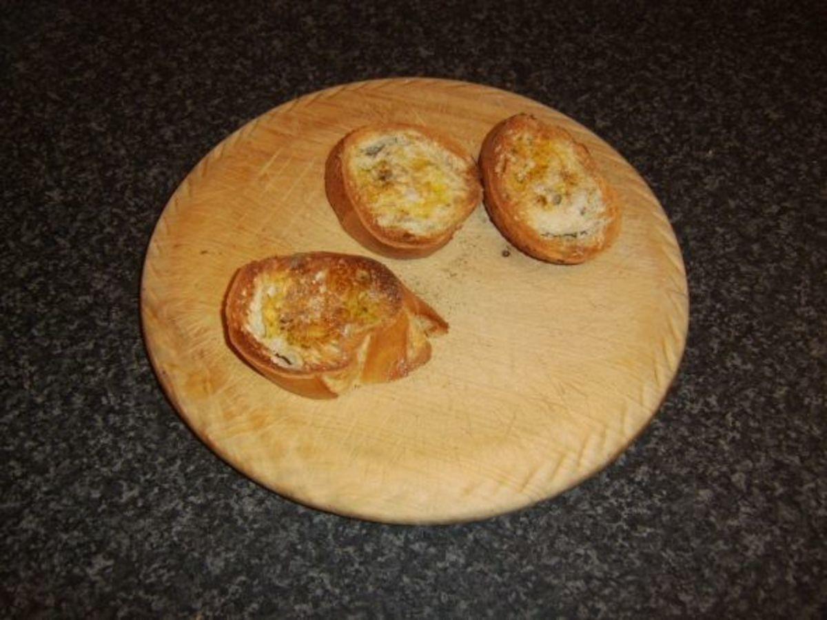 Basic bruschetta