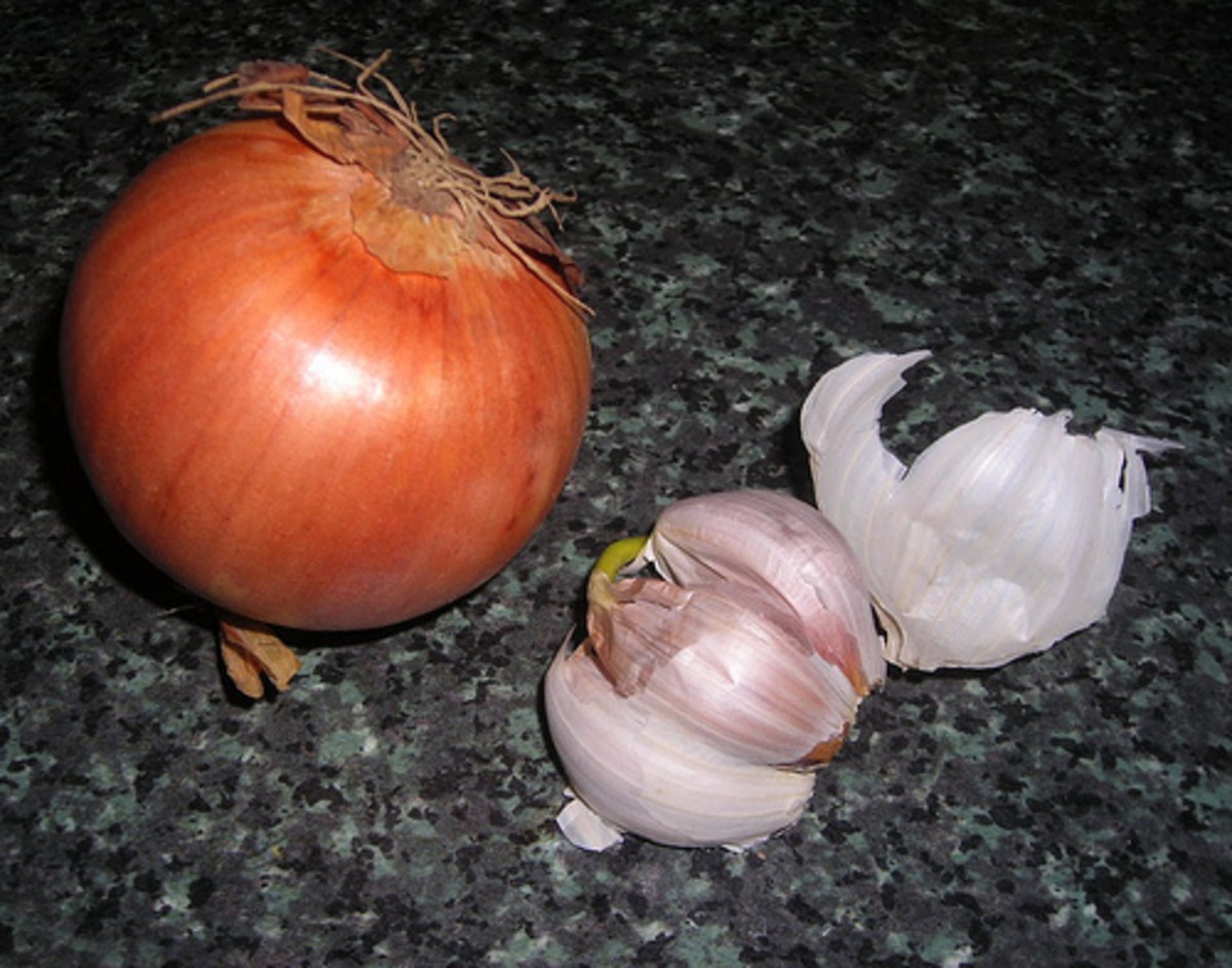 Go easy on onion and garlic - they are strong