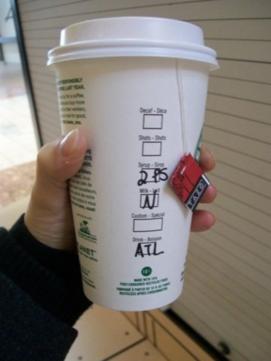When Starbucks served Tazo tea, this drink was made with Awake tea, which is a different brand.