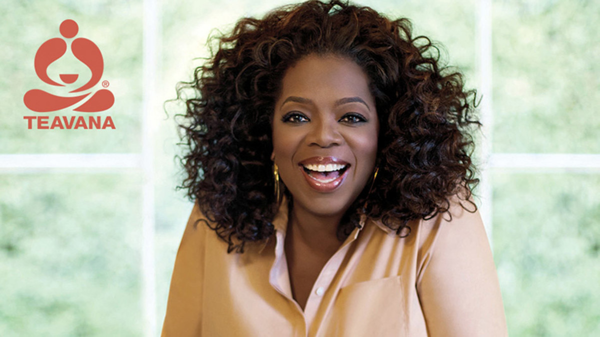 A portion of each Teavana Oprah Chai Tea Latte purchase goes to Oprah's charity in support of youth education