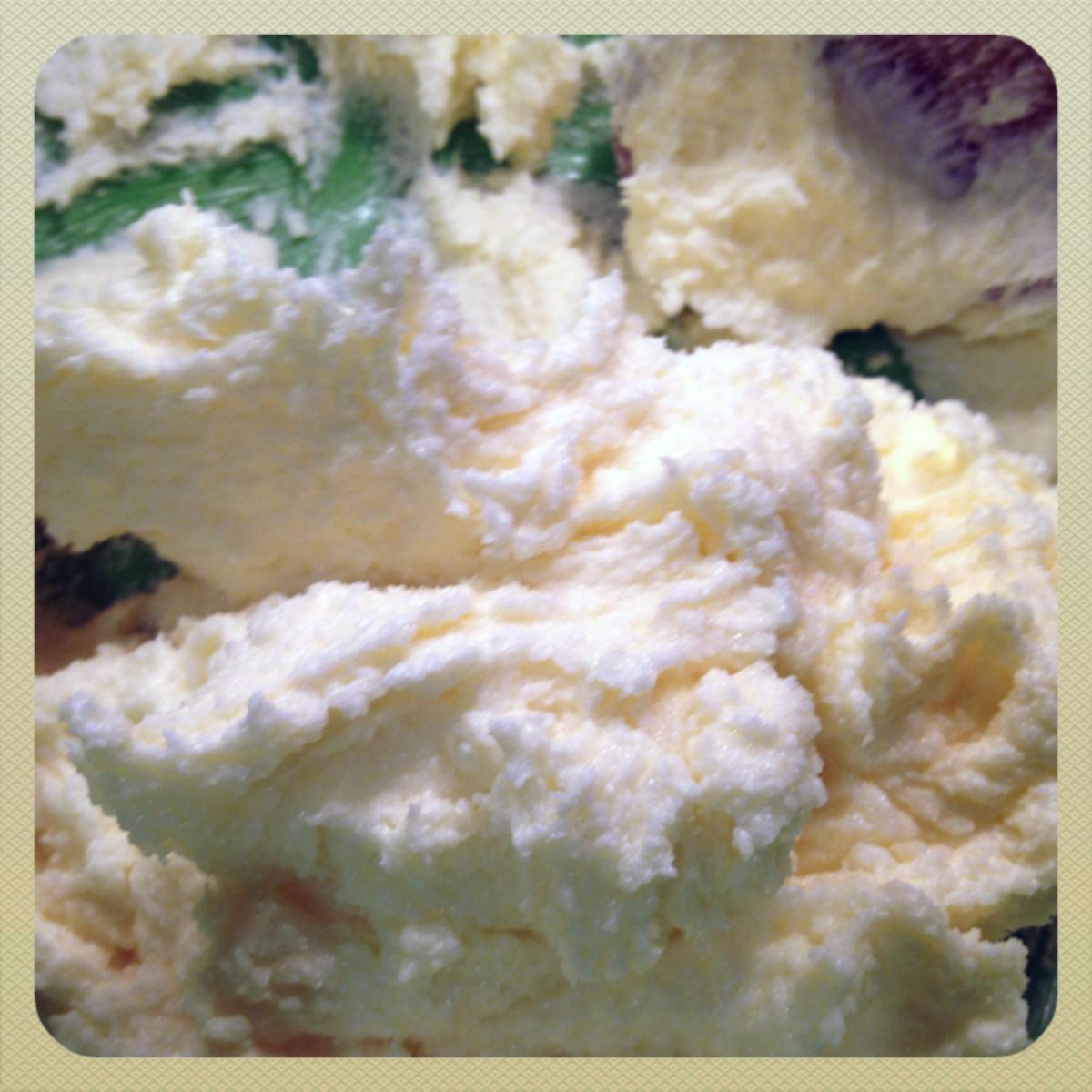 sugar, butter & shortening