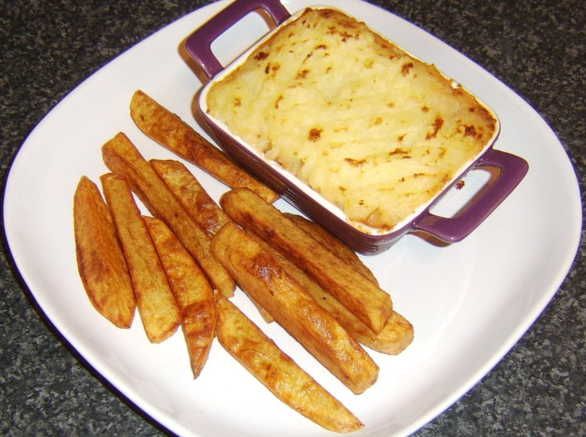 Individual Baked Beans Cottage Pie