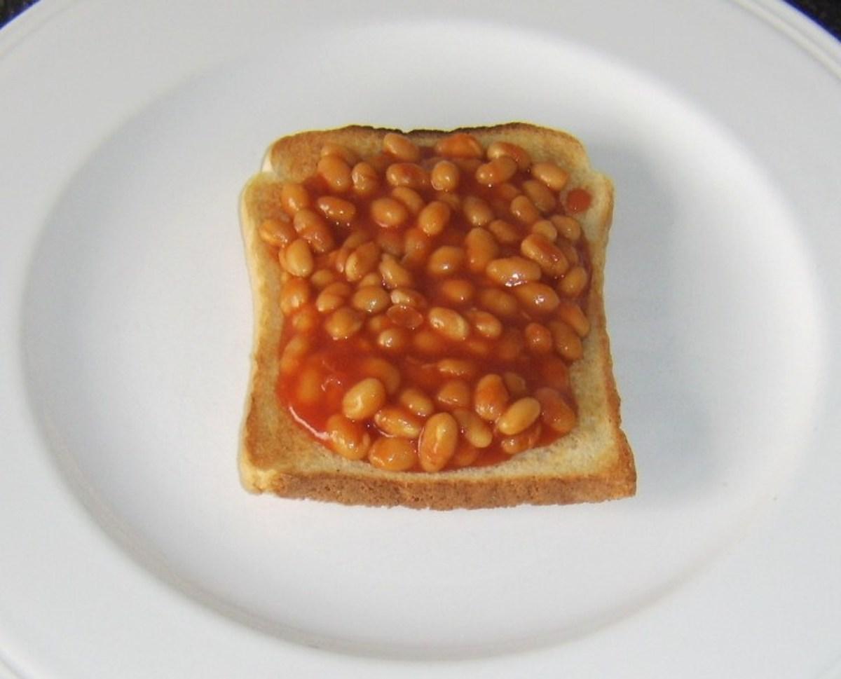 Baked Beans on Toast is Tasty