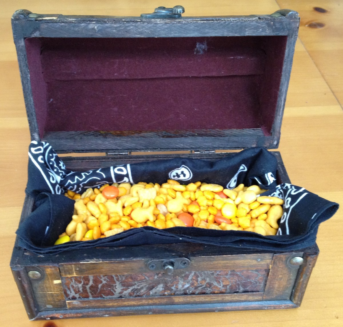 Pirate's Gold Snack Mix