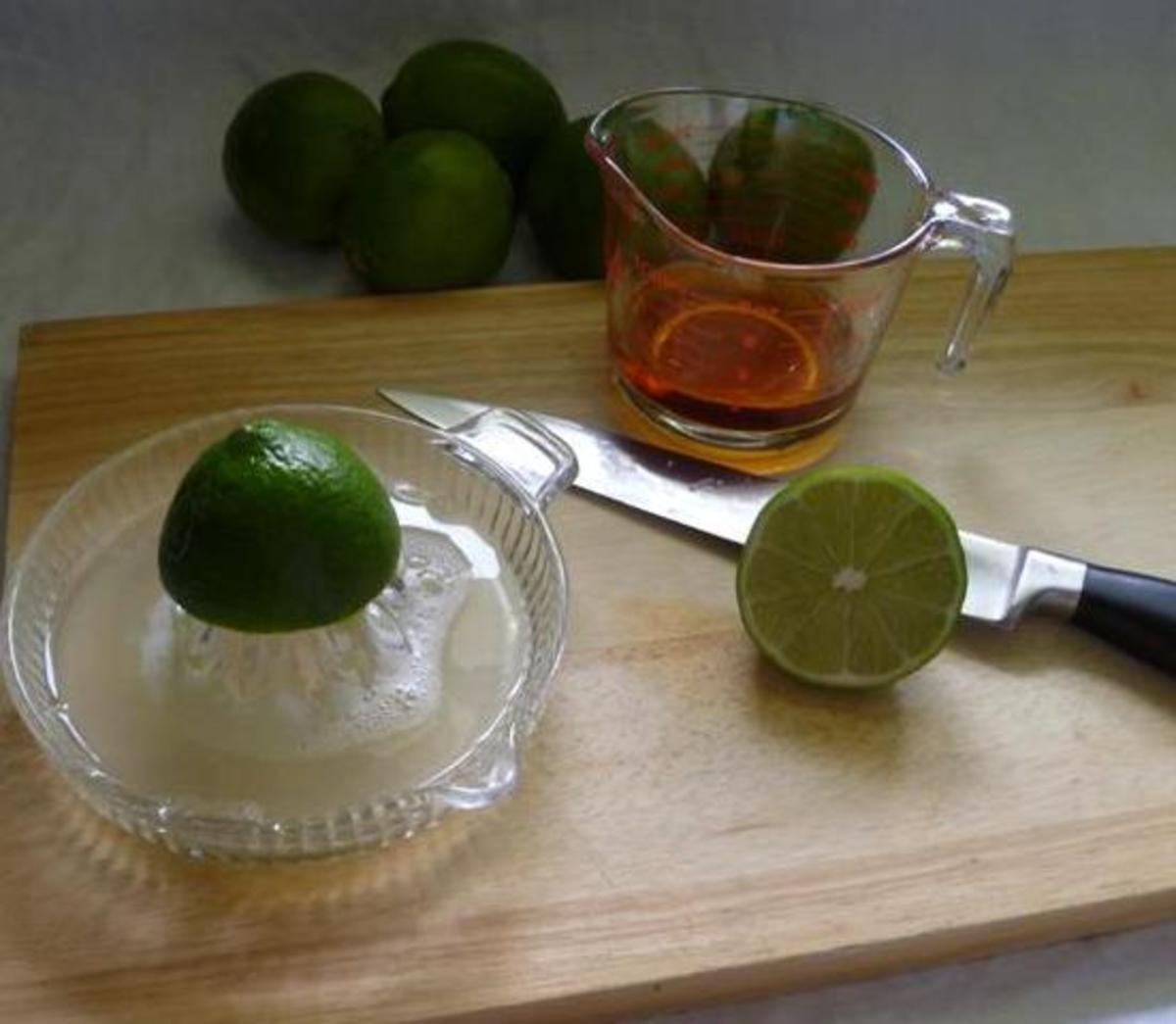 juicing the limes