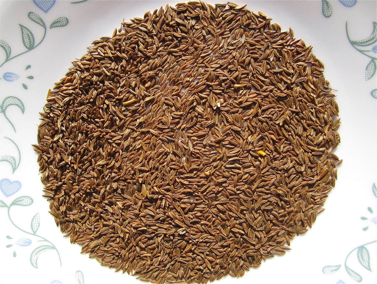 I nearly always have caraway seeds in my kitchen.