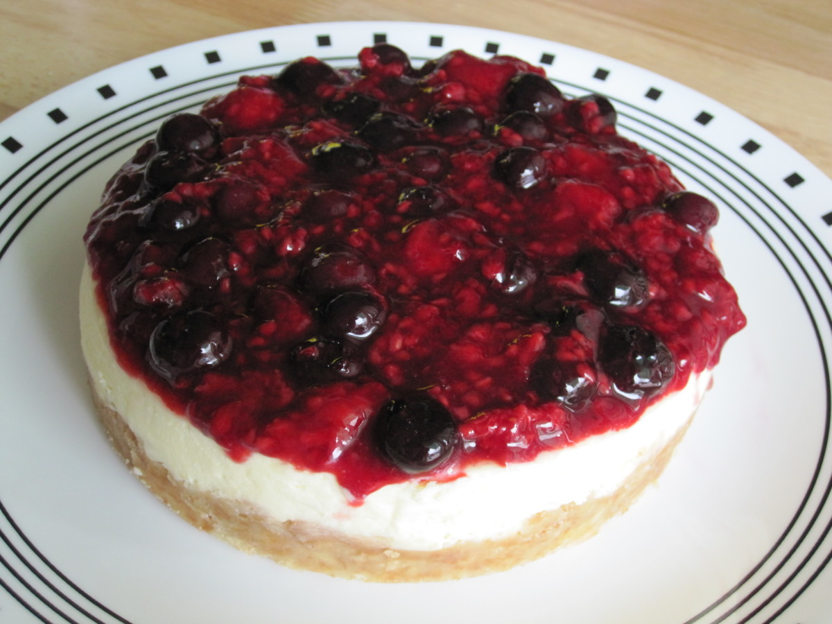 Triple-Berry Cheesecake