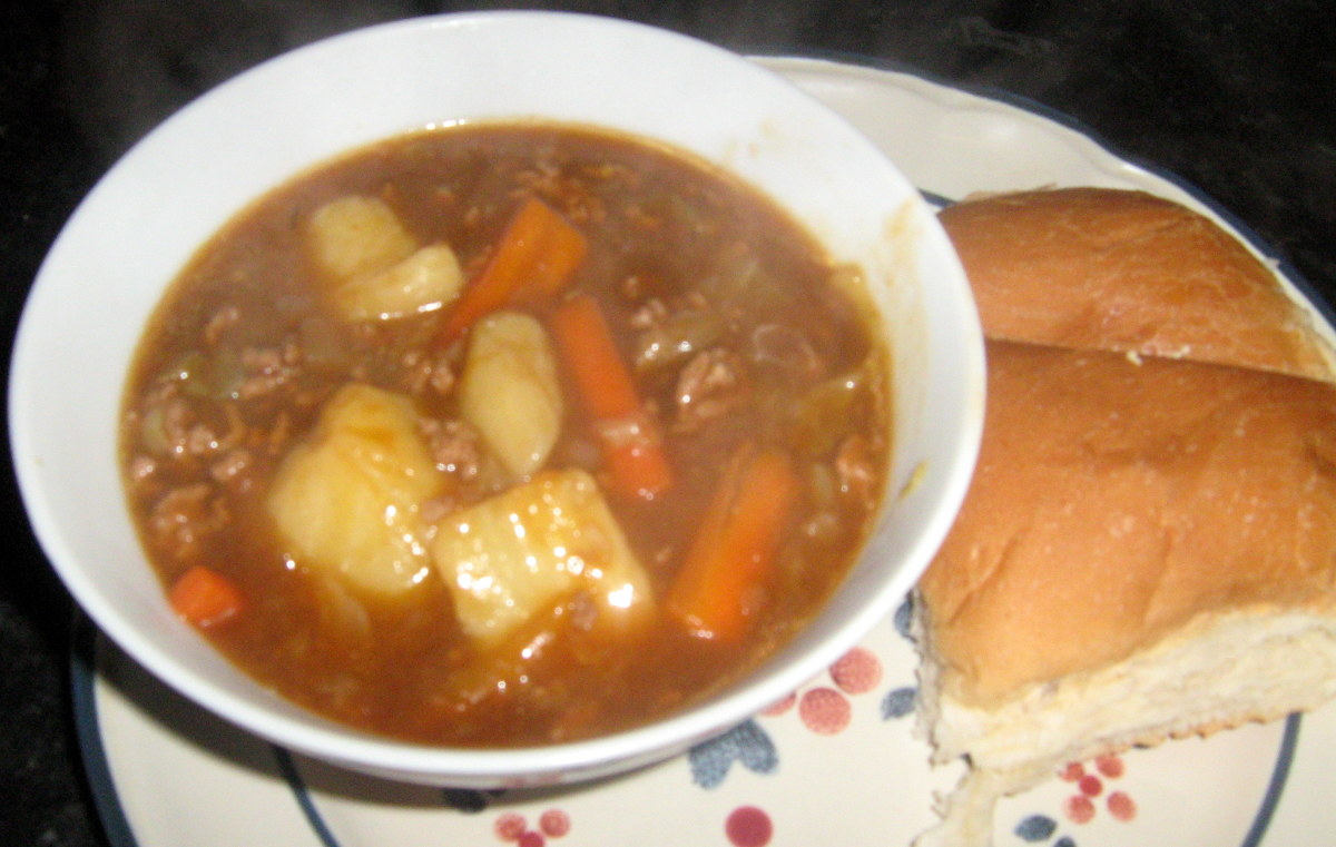 Learn how to make ground beef stew recipe