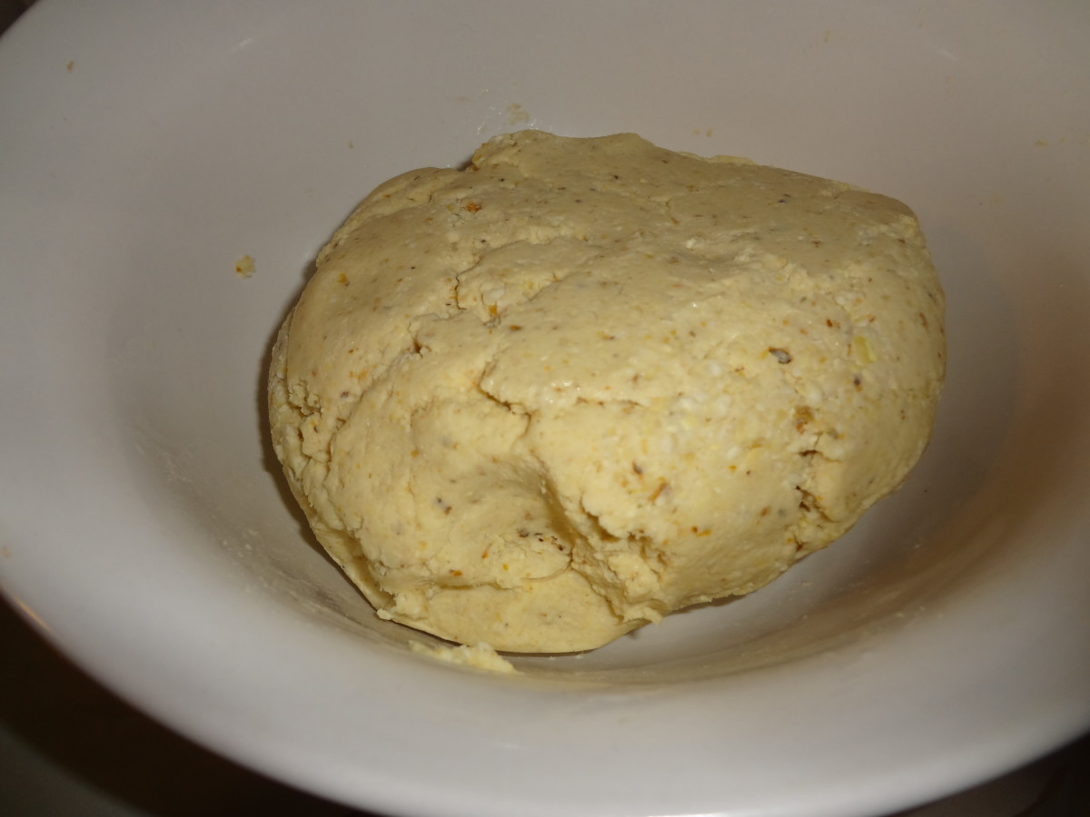 Knead a few times to form a ball