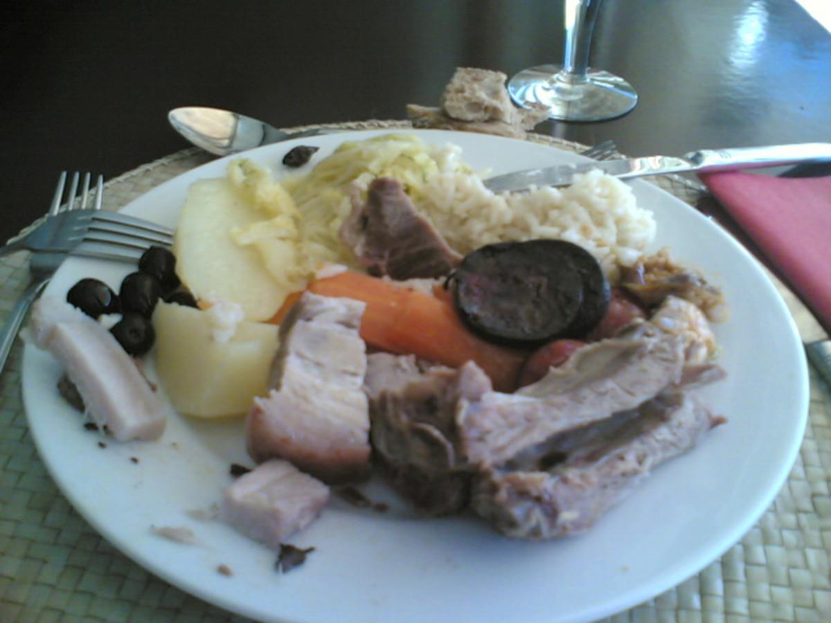 Cozido à portuguesa, a Portuguese dish.