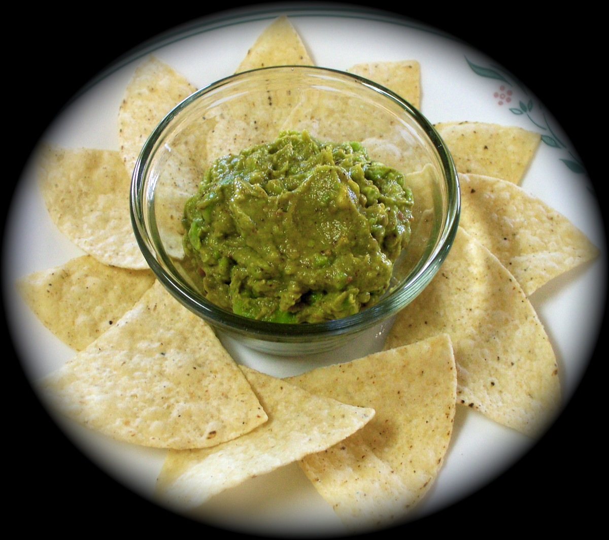 Simple Guacamole in Five Minutes!