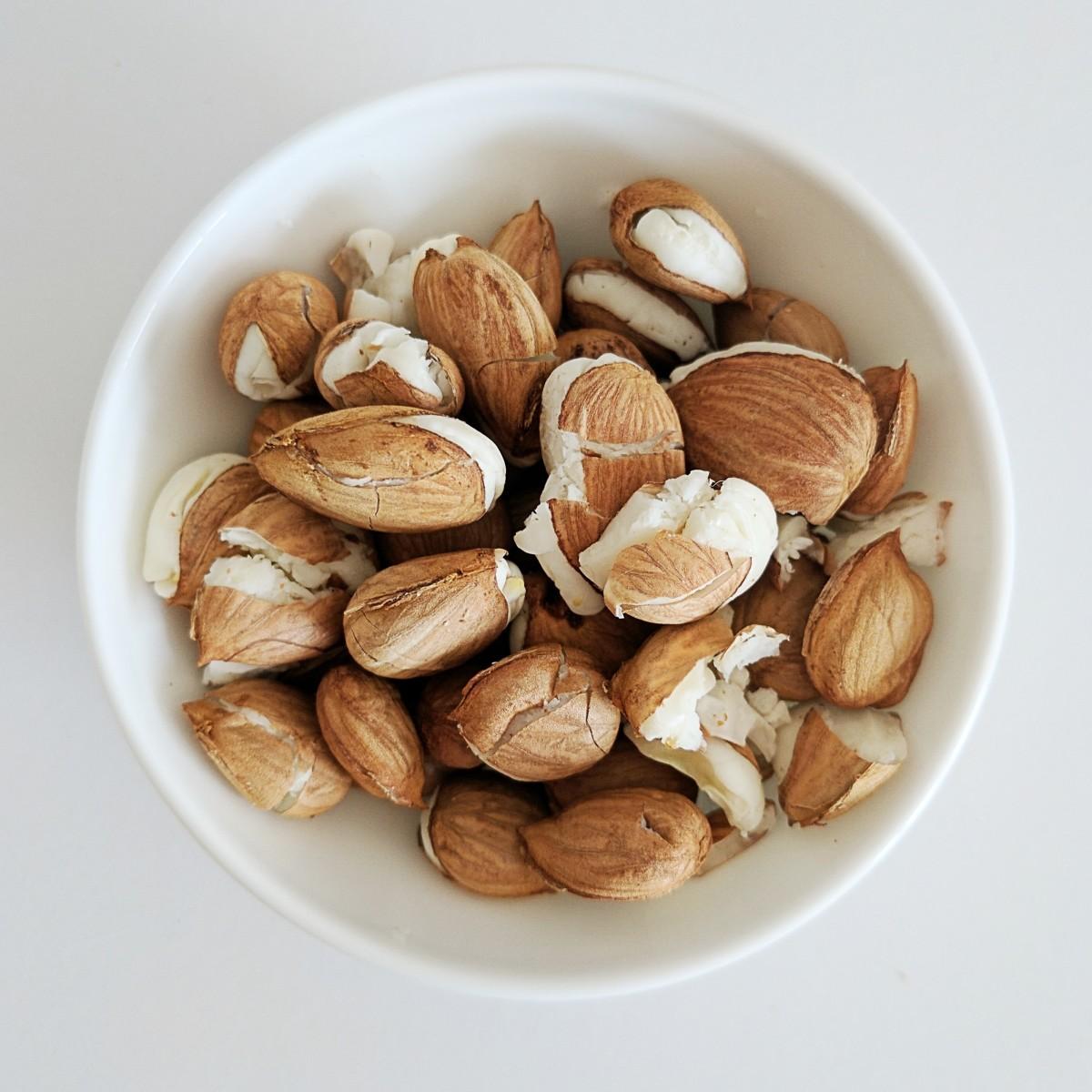 Apricot kernels or seeds