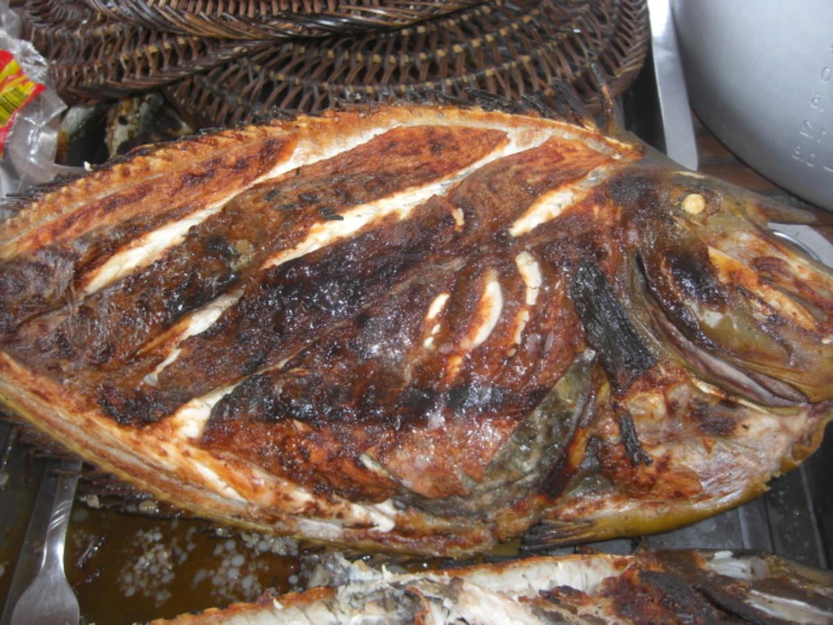 Grilled Unicorn Fish